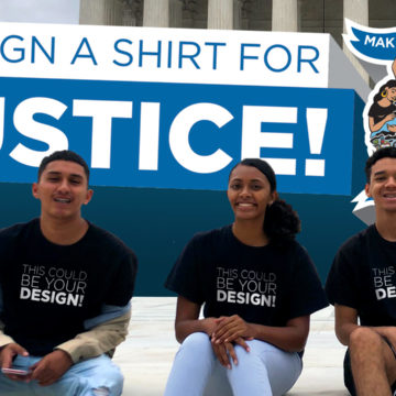 DESIGN A SHIRT FOR JUSTICE!