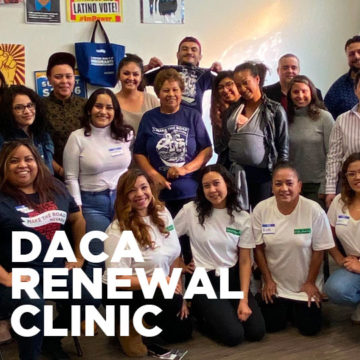 30 local DREAMers received DACA renewal scholarships over the weekend.