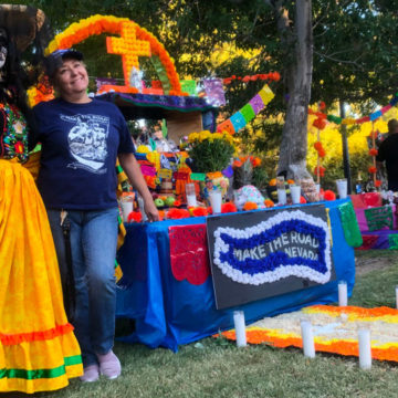 The meaning behind Make the Road NV's Ofrenda for the Life in Death Festival