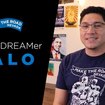I am a DREAMer: Lalo