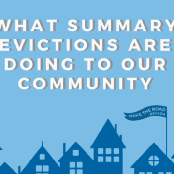 What Summary Eviction is Doing to our Community